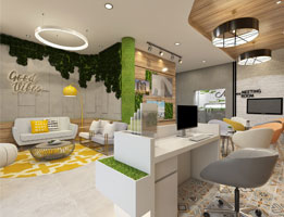 interior designer for resepsionist