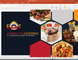 Jasa Pembuatan Powerpoint Catering