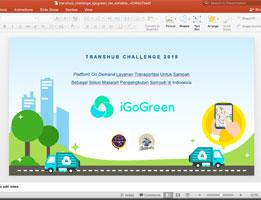 Jasa Pembuatan Powerpoint IGoGreen