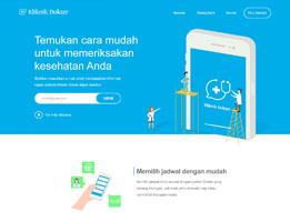 portofolio pembuatan website klinik dokter