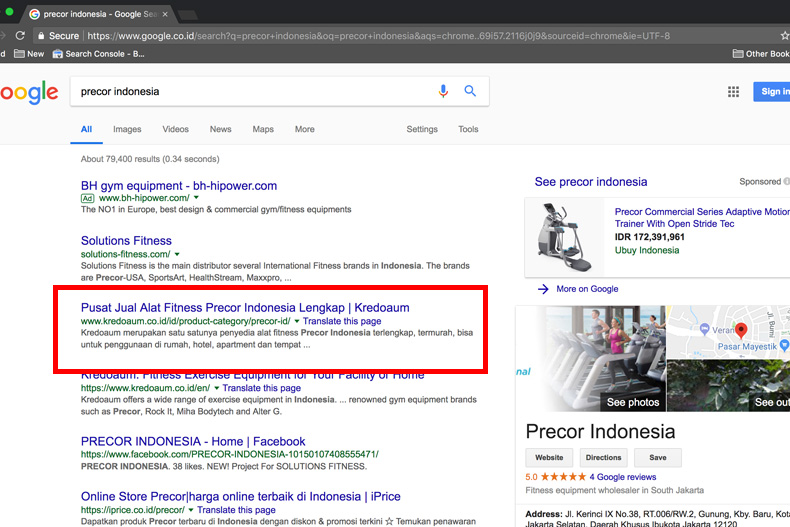 testimonial seo on page dan off page service