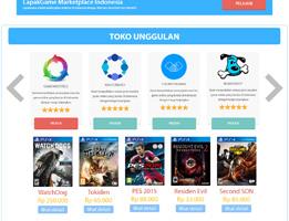 portofolio lapak game toko online