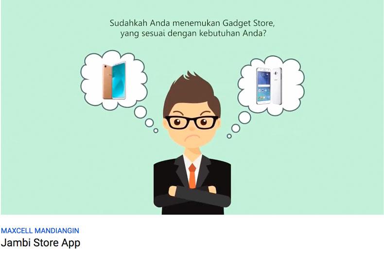 testimonial dari pemilik aplikasi