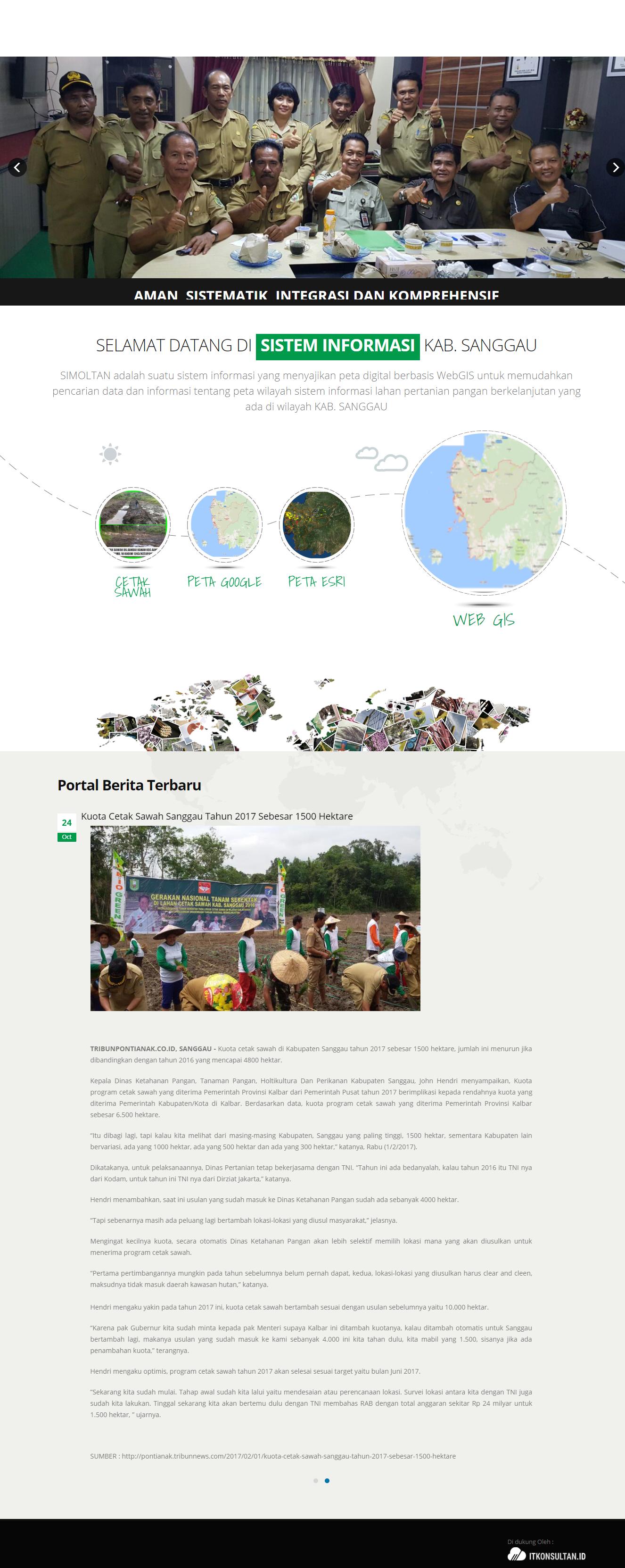 Sistem informasi dinas pertanian  perikanan dan peternakan sanggau 465b48ca56