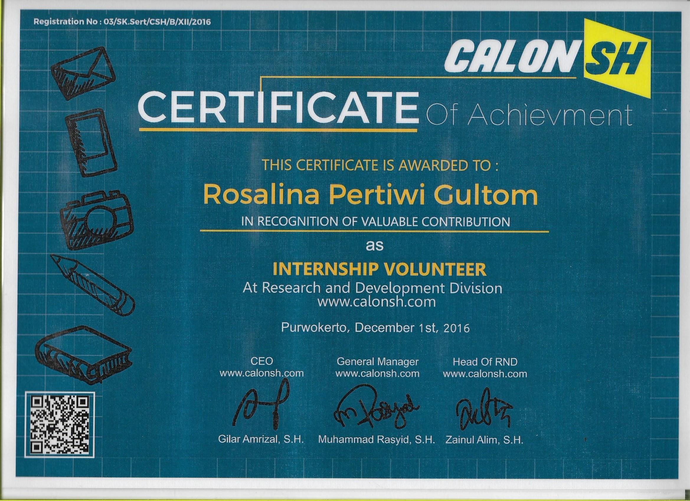 Sertifikat internship csh 9a214d2dd2