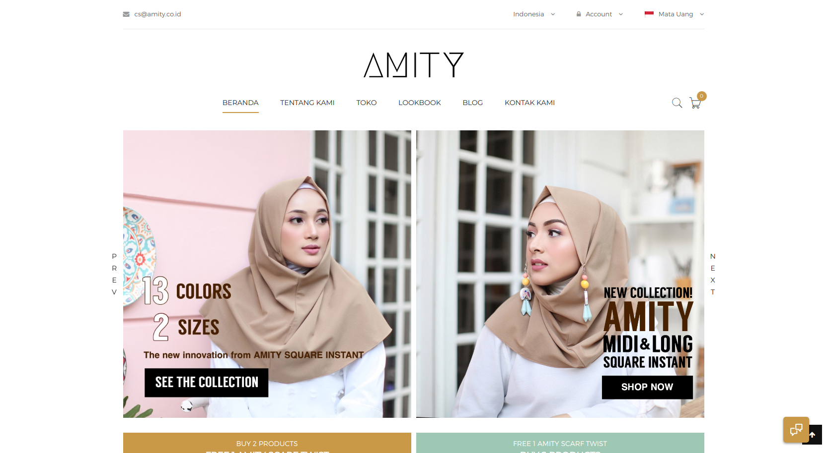 Amity   brings you to the next level of hijab fashion 208c166a32